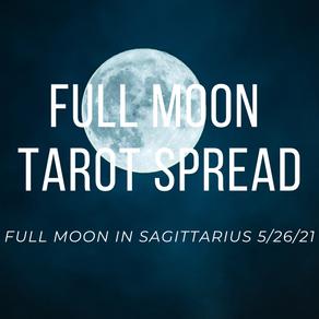 Tarot Spread for Full Moon in Sagittarius
