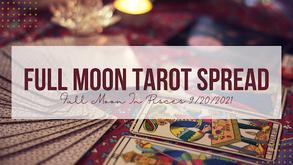 Full Moon in Pisces Tarot Spread