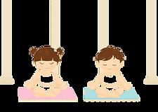 boy-and-girl-meditating-illustration-png