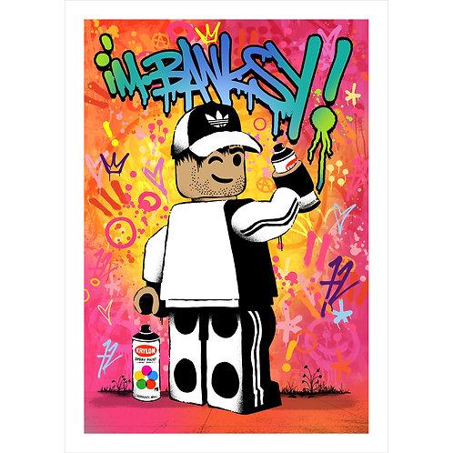 I'm Banksy   STREET EDITION   Colour