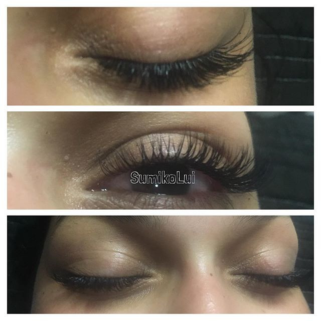 An answer to prayers_ eyelash extensions