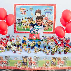 Luiz Otávio - 3 anos (festa na escola)