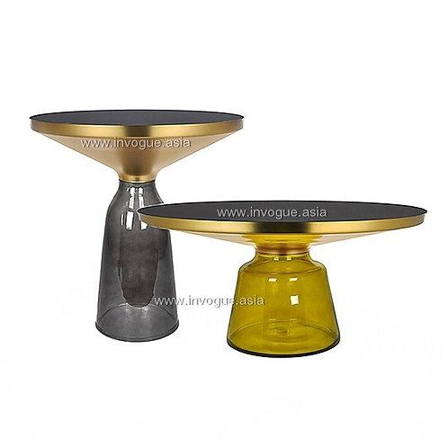 coffee/side table | CSMZ5301 LUNA VETRO