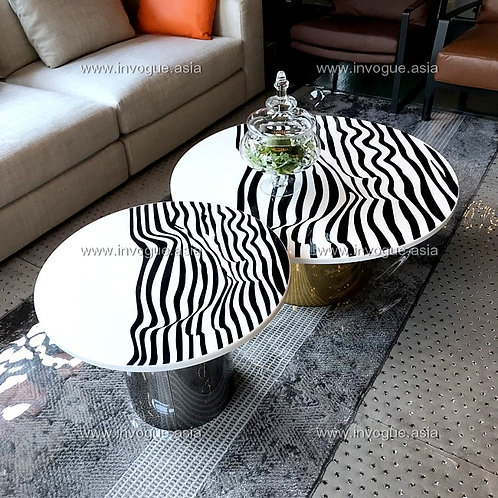coffee/side table | CSMS5001 ZEBRANO