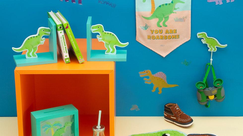 Roarsome Dinosaurs T-Rex Banner Flag