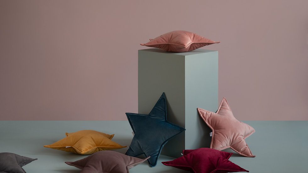 Star Velvet Cushion