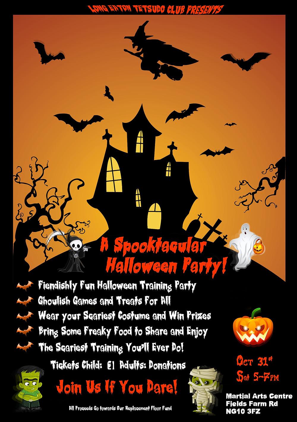 LETC Halloween Poster