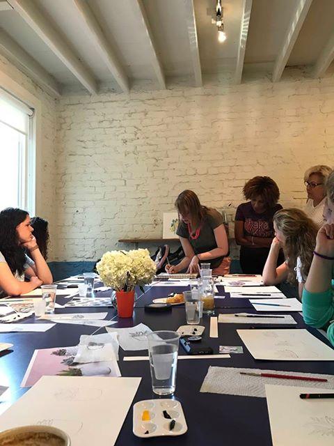 Holly Carton teaching