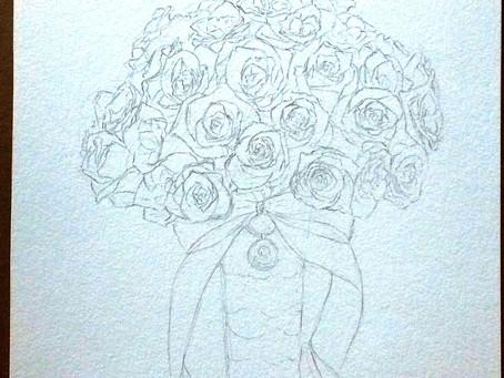 Wedding Bouquet Process