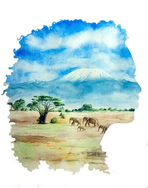 Kilimanjaro on Her Mind
