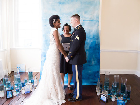 Watercolor Ocean Styled Shoot featured on Wedding Chicks!