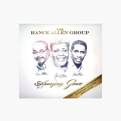 The Rance Allen Group - Amazing Grace CD & DVD Combo
