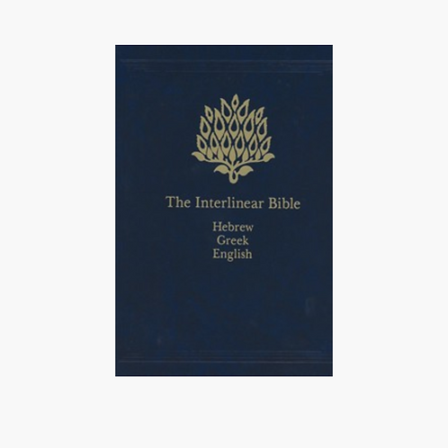 The Interlinear Bible Complete Set