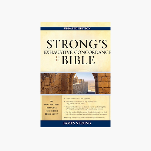 Strong's Exhaustive Concordance Of The Bible (Updated)
