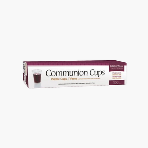 Disposable Communion Cups, Box of 100