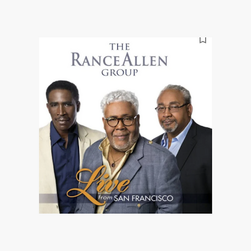 The Rance Allen Group - Live from San Francisco DVD