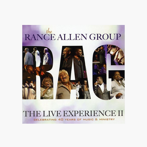 The Rance Allen Group - Live Experience II DVD