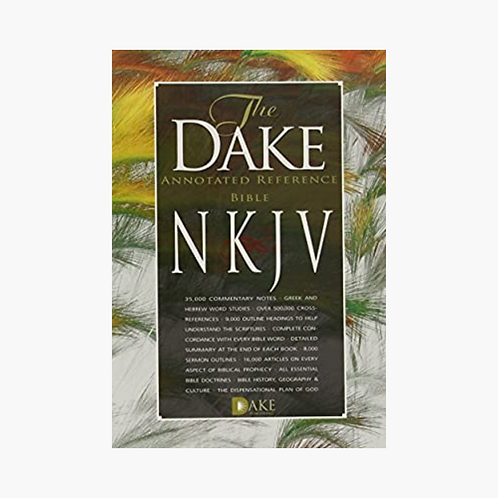 NKJV Dake Annotated Reference Bible Brown Leathersoft