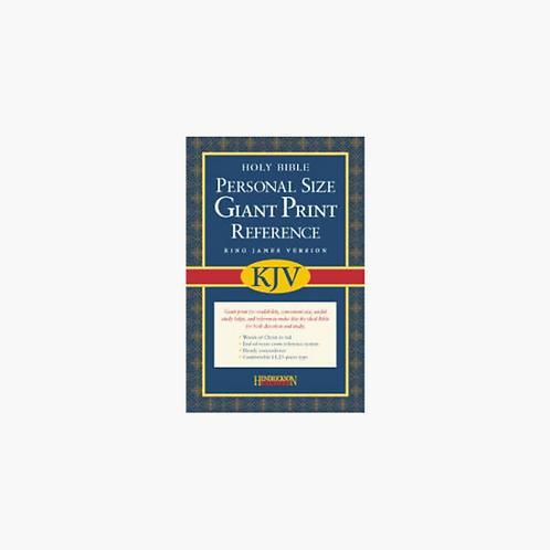 Hendrickson Bibles KJV Personal-Size Giant-Print Reference Bible