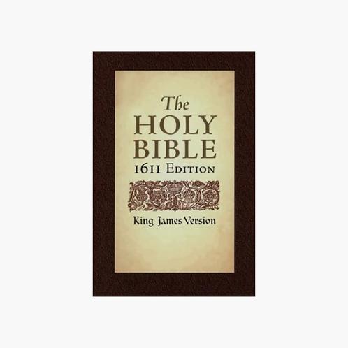KJV 1611 Bible Hardcover