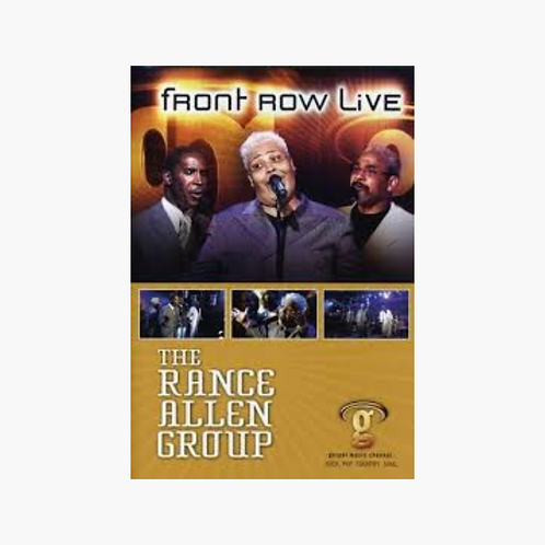 The Rance Allen Group - Front Row Live DVD