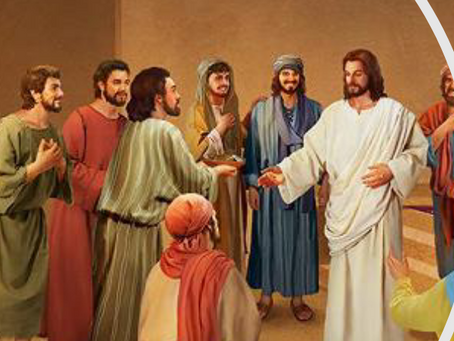 HOMILY FOR APRIL 18th - The Encounter with the Risen Jesus