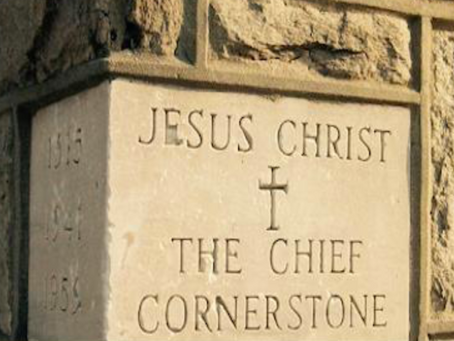 HOMILY FOR APRIL 25th - The Stone Rejected by the Builders