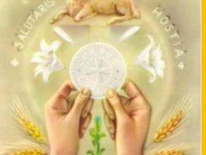 HOMILY FOR June 6th - Corpus Christi