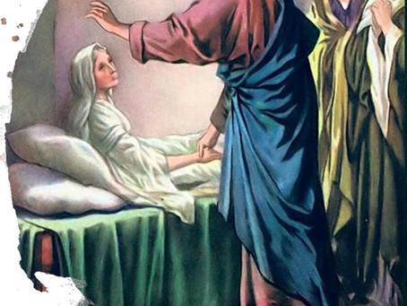 HOMILY FOR FEBRUARY 7TH - JESUS THE HEALER