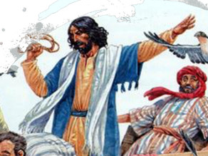 HOMILY FOR MARCH 7th - Jesus Enters the Temple