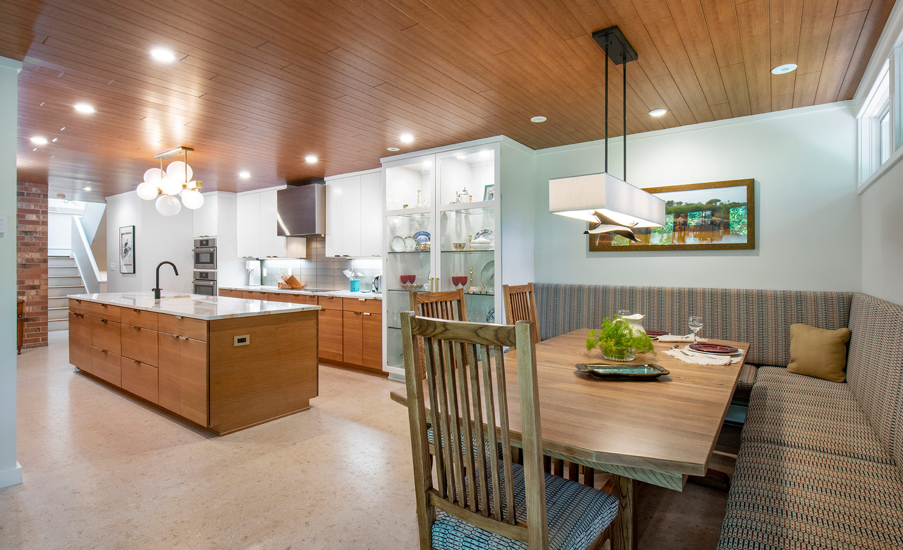 Kitchen from Table