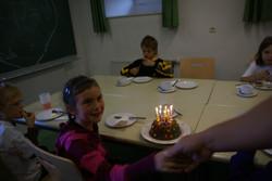 Auch Geburtstage werden gefeiert