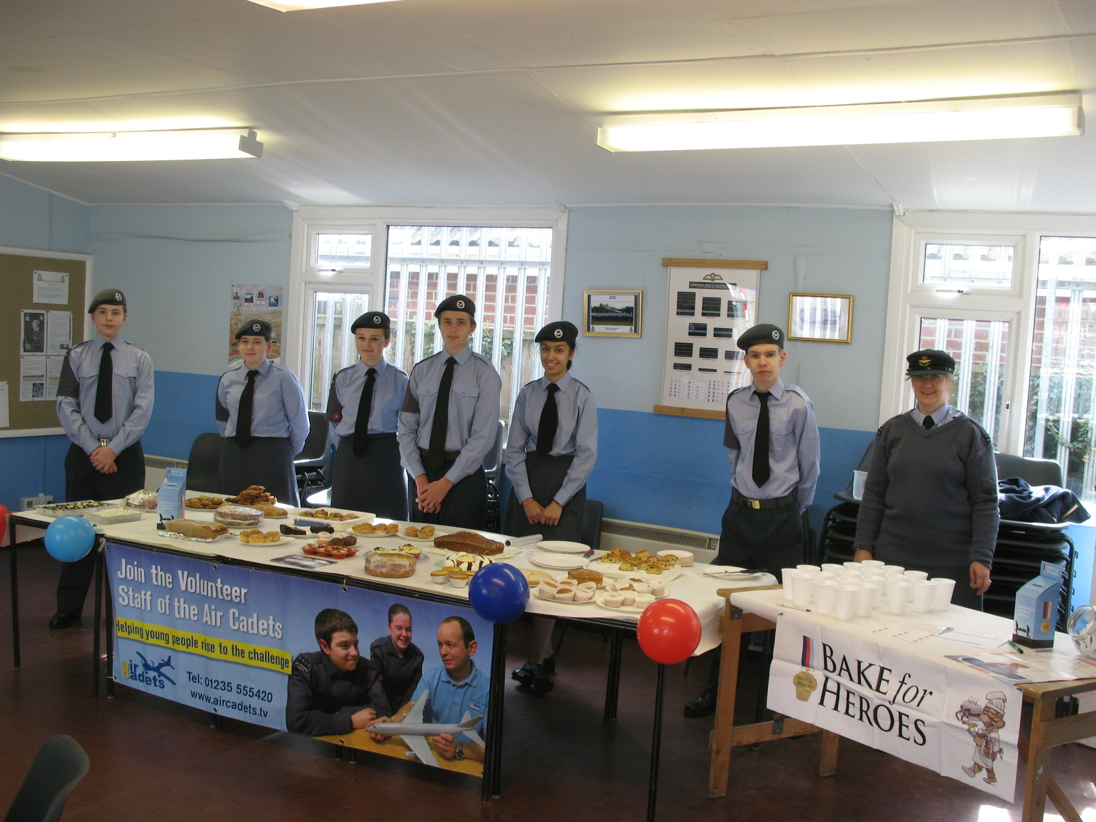 Help for Heroes Bake Sale