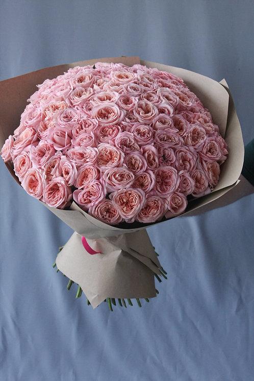 103 пионовидые розы 60см