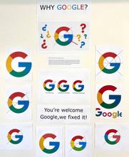 Google G Redesign - Class Display
