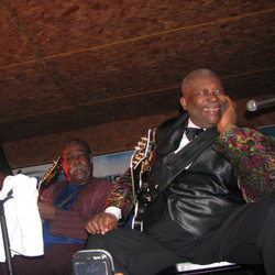 B.B.King and Jesse Robinson