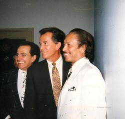 Joey Dee, Dick Clark, Jimmi Mayes, 1988 Clearwater, FL