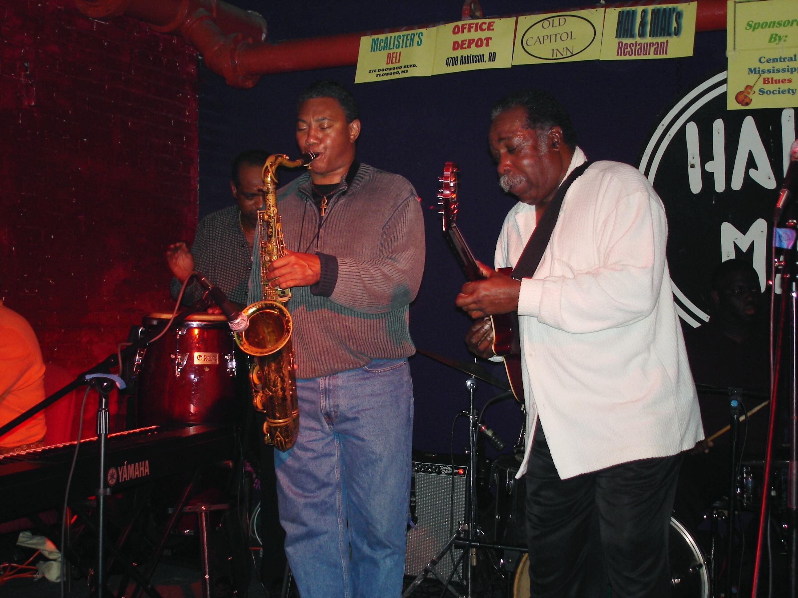 Alphonso Sanders and Jesse Robinson