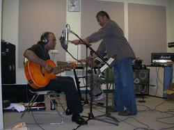Recording at the B.B. King Studio