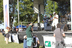 Mickey Rogers at Hwy 61 Blues Festival