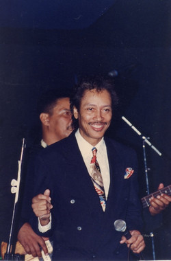 Jimmi Mayes and Jimmy Prior at Buddy Guys Legends 1988 Chicago