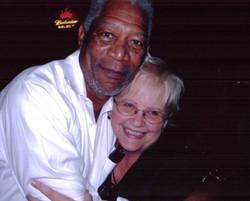 Carol Marble and Morgan Freeman