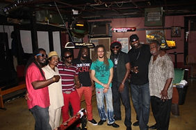 Dubtonic Kru band with Mickey Rogers and
