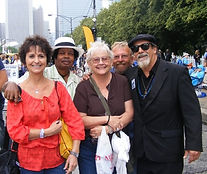 Chicago Blues Festival, Peggy, Mickey, C