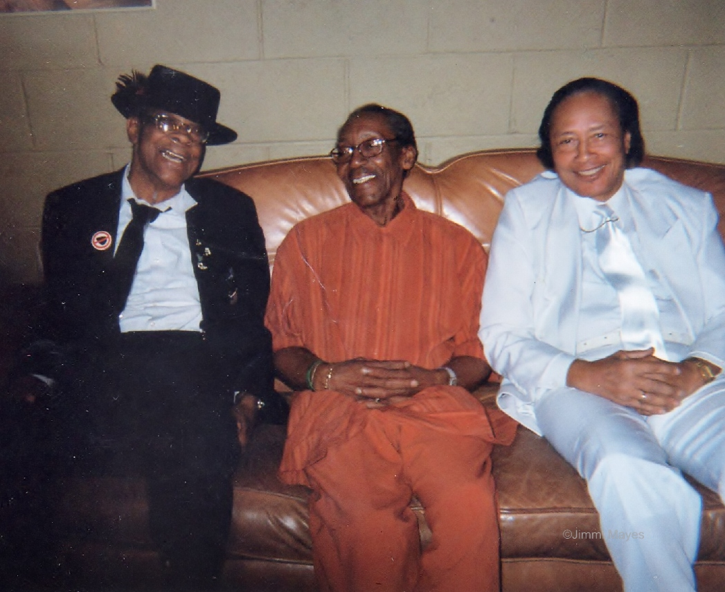 Hubert Sumlin, Willie Big Eyes Smith, Jimmi Mayes at Jazz Alley, Seattle, Washington 2009