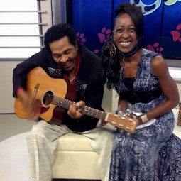 Cat Rhodes with Bobby Rush