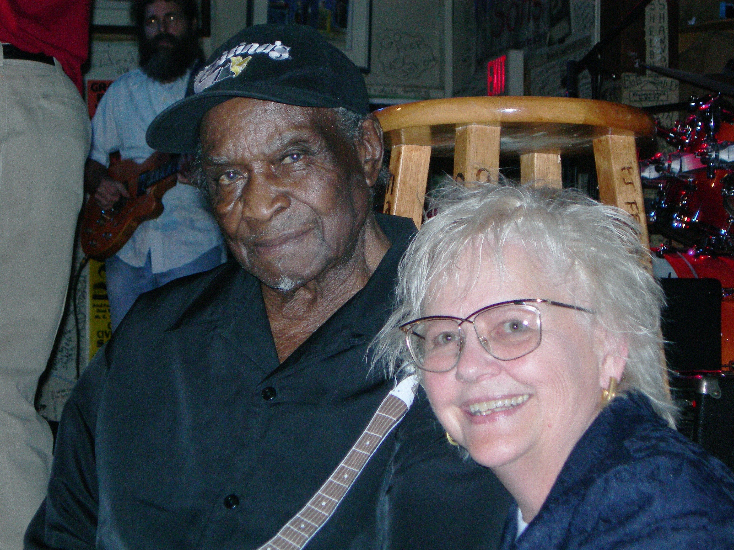 Carol and Honey Boy Edwards