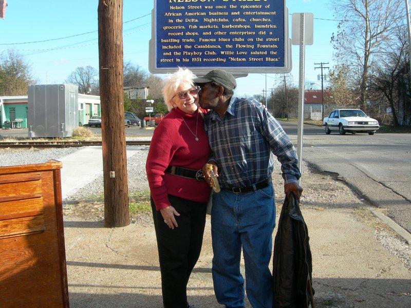 Carol and TModel Ford