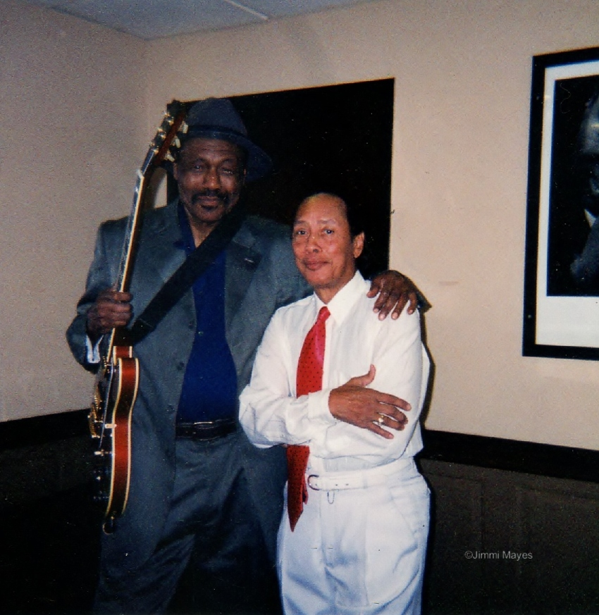 Johnny Jones and Jimmi Mayes, 2004, Tribute to Hendrixs at BB Kings Place in Manhatten