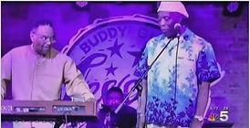 Johnny Drummer & Buddy Guy NBC News 5 Ch